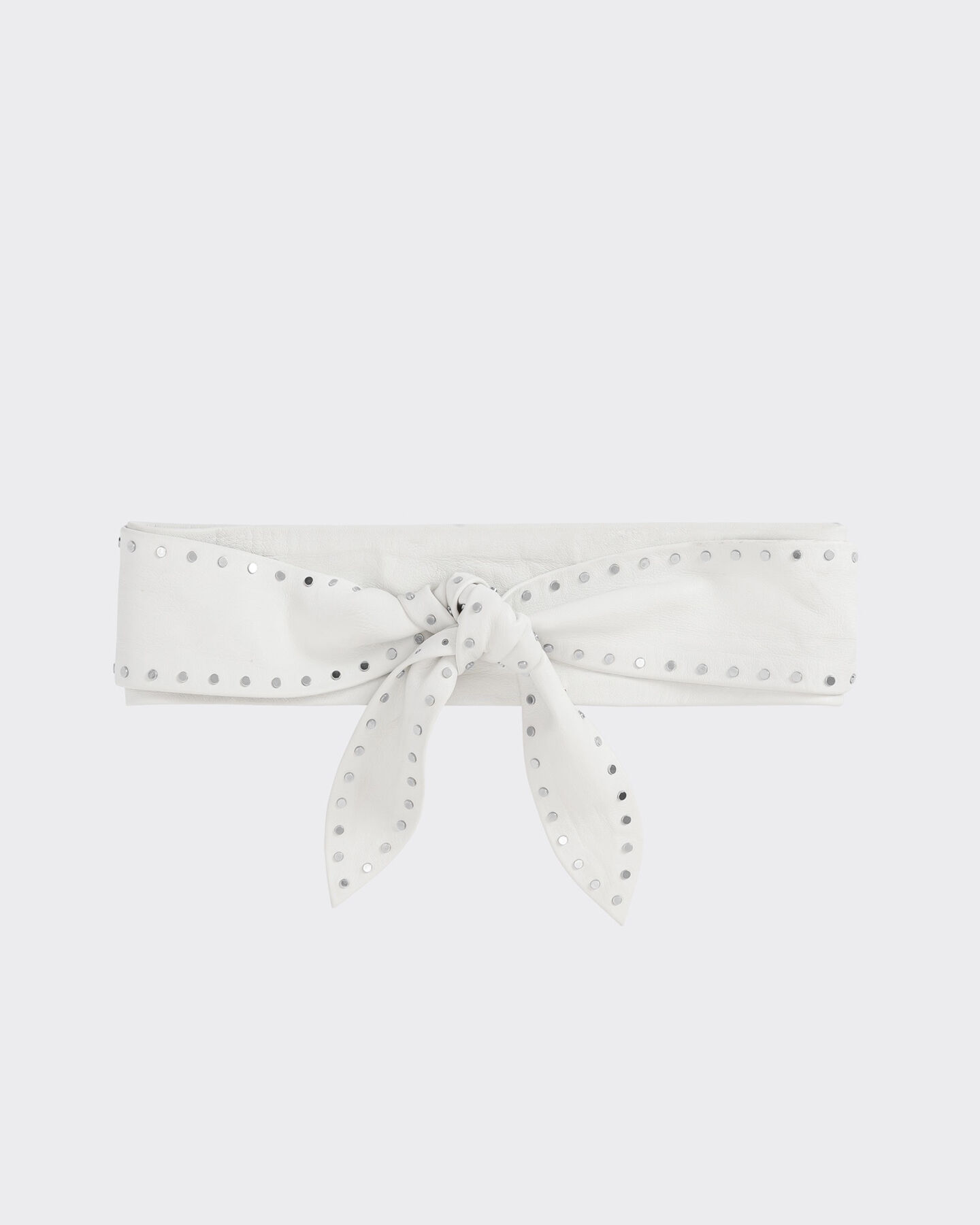 IRO BELIZARA BELT,WHITE
