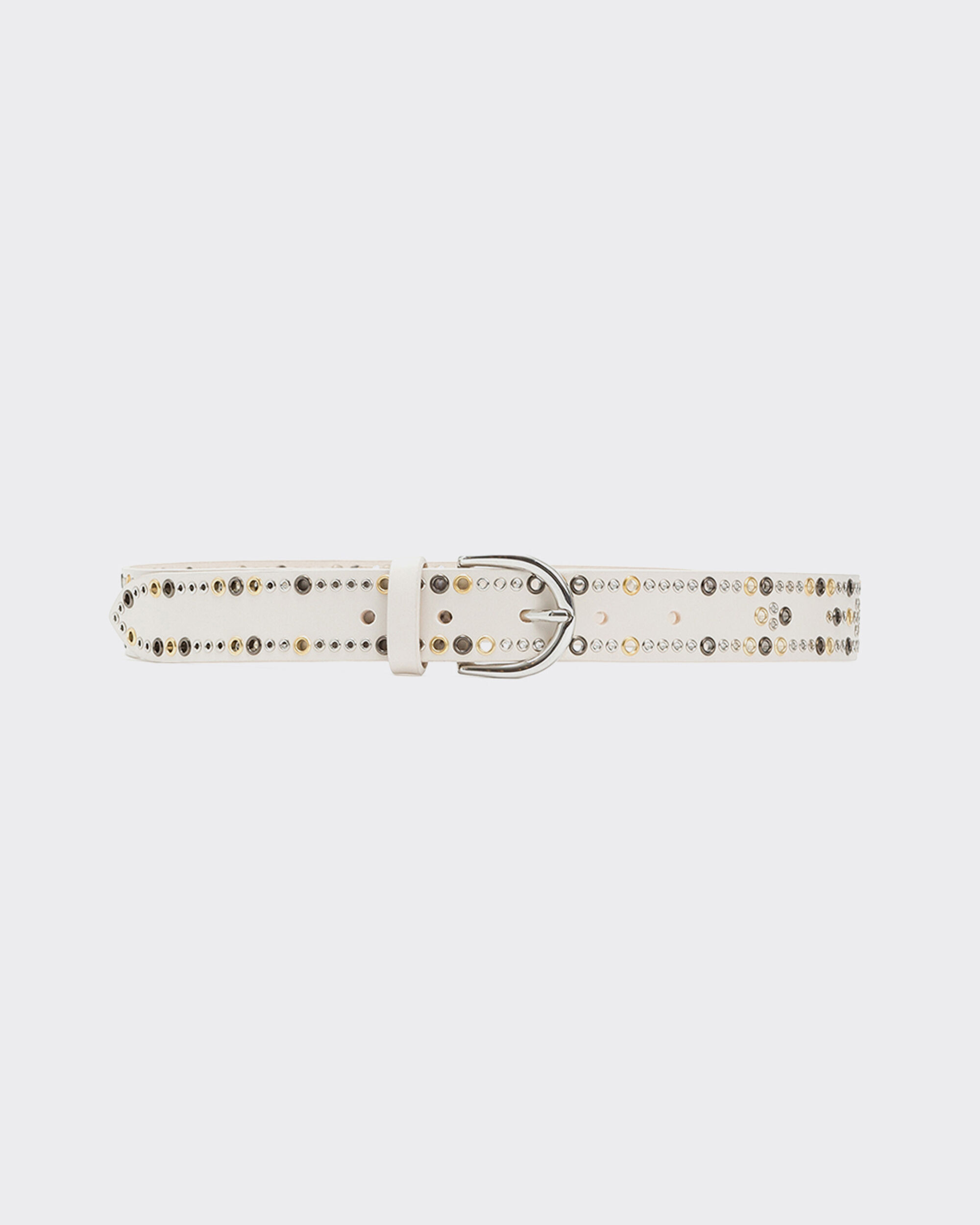 IRO CURY BELT,WHITE