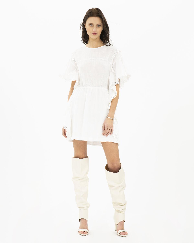 IRO 원피스 SERENITY DRESS,WHITE