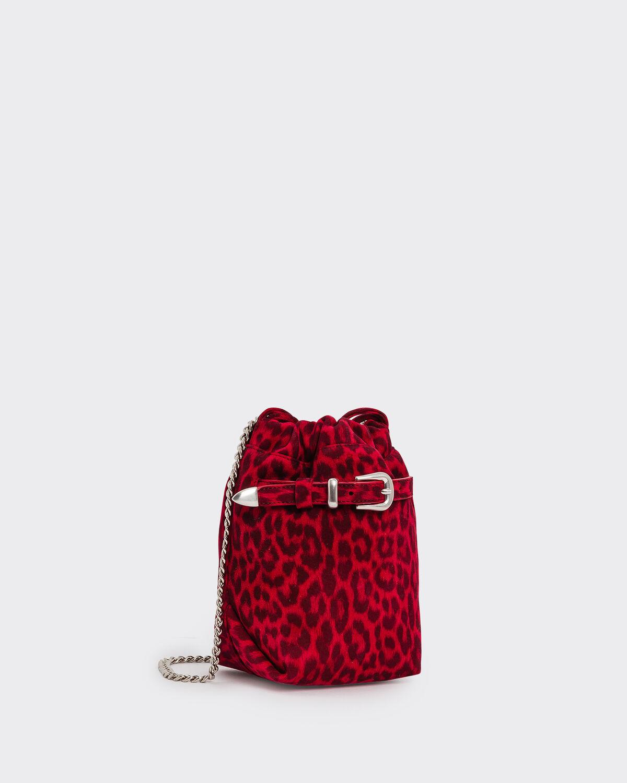 IRO BELTYPMCH BAG,RED