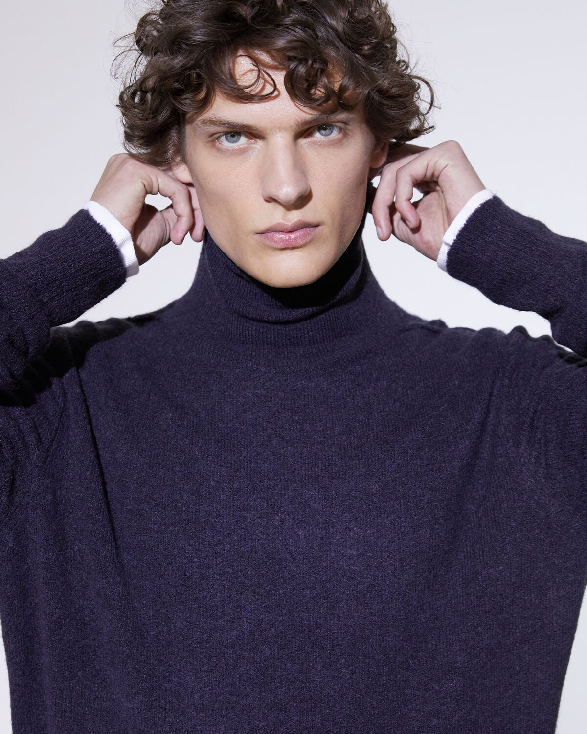 IRO ARGOR SWEATER,ANTHRACITE