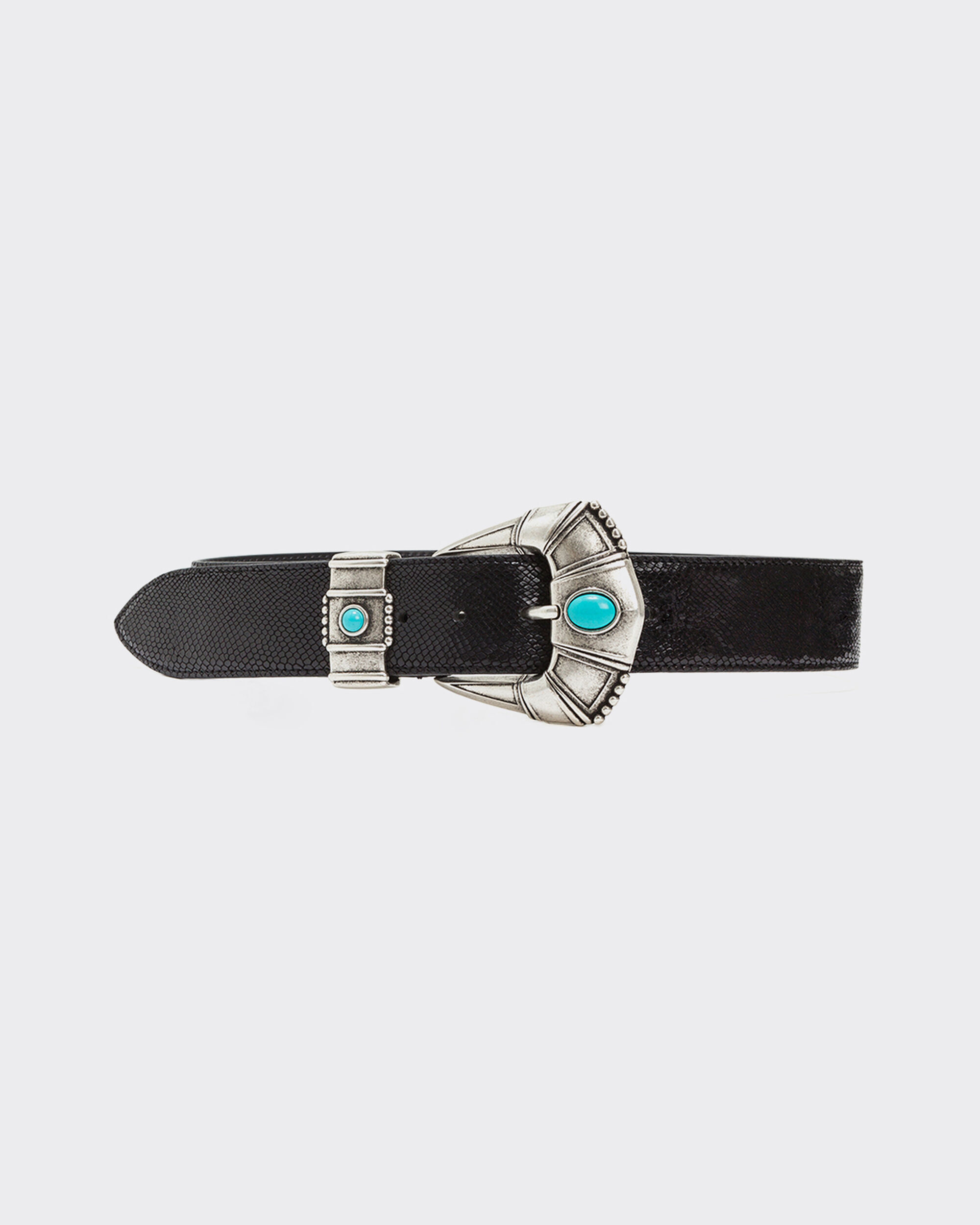 IRO SIDEN BELT,BLACK