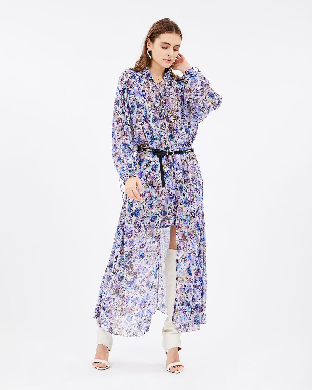 IRO 원피스 WYE DRESS,BLUE