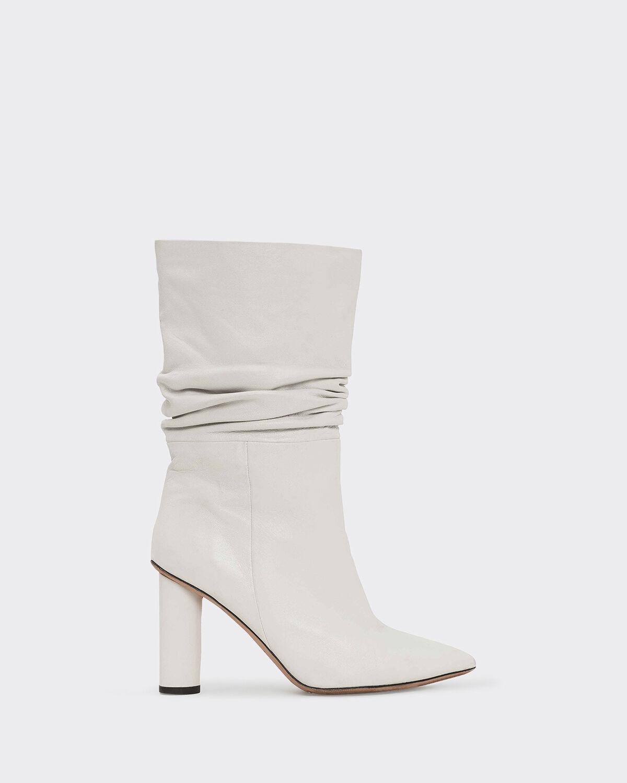 IRO SHONEL BOOTS,WHITE