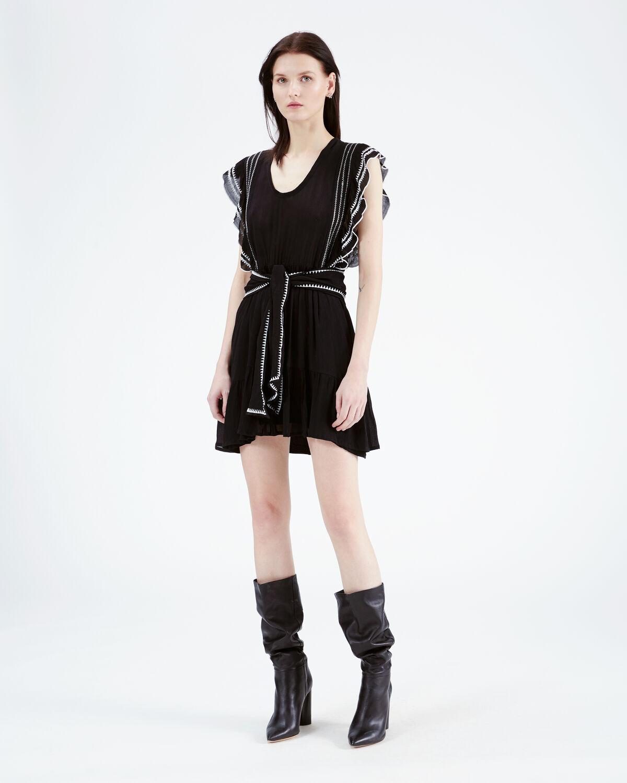 IRO - OTTIE DRESS BLACK