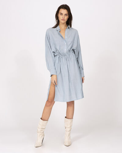 Iro Markala Dress In Light Blue