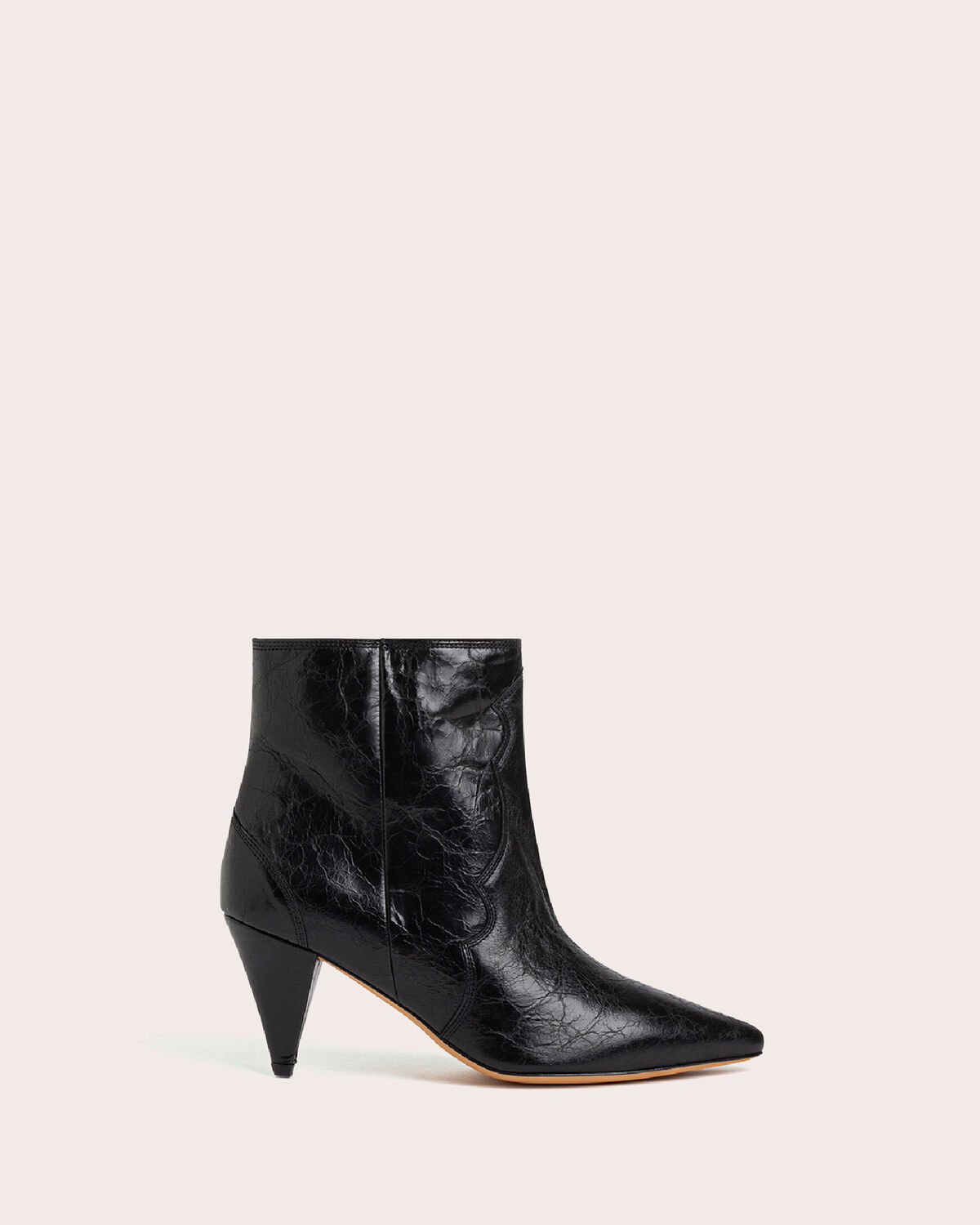 IRO - COTOPA WESTERN ANKLE BOOTS BLACK