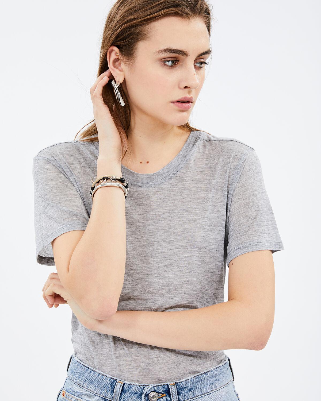 Demure T-Shirt Grey by IRO Paris