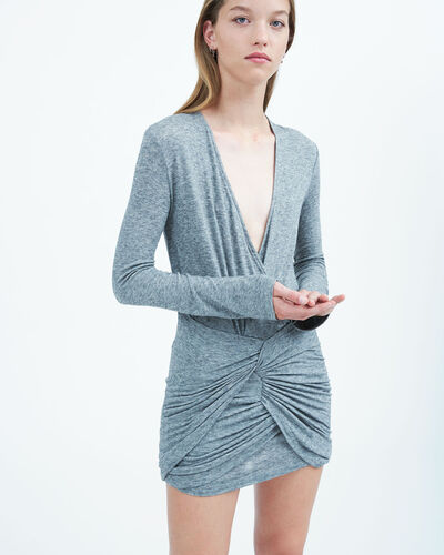 IRO - QUANTU DRESS STONE GREY