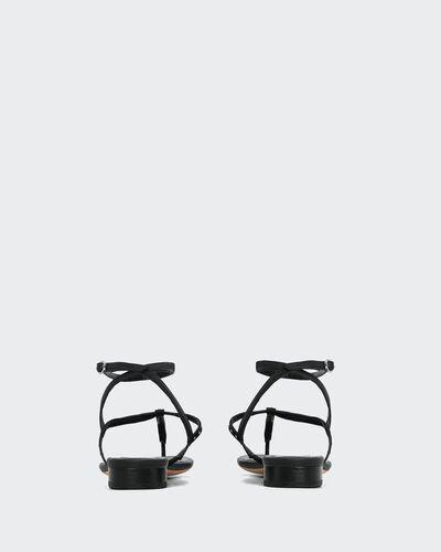 IRO - SANDALES LILAS BLACK