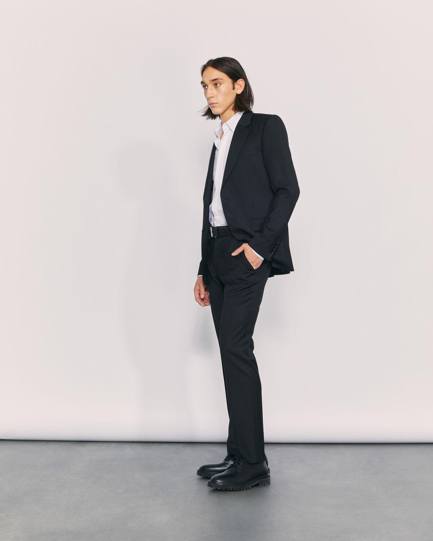 IRO - VESTE DE COSTUME EN LAINE VIERGE JHIM BLACK
