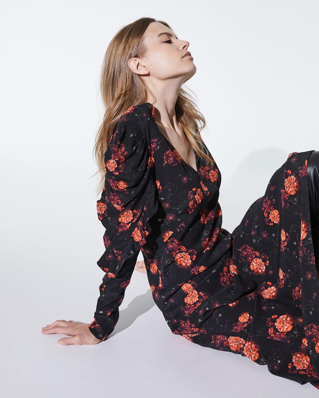 Louve Dress Black And Red by IRO Paris