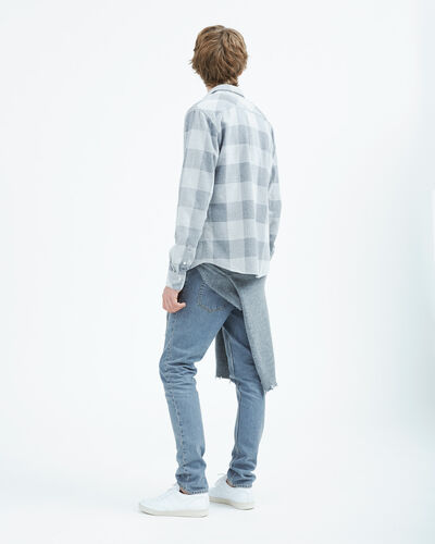 IRO - ORION SHIRT LIGHT GREY