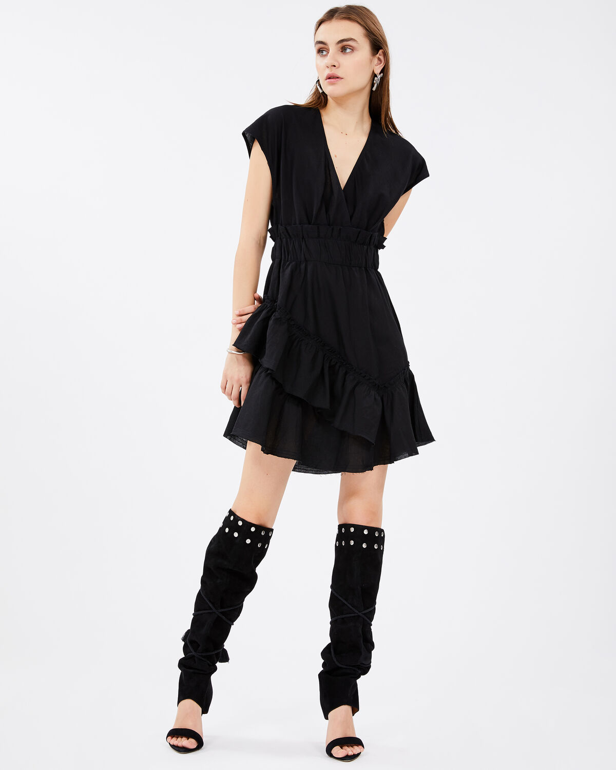 IRO - BILLOW DRESS BLACK