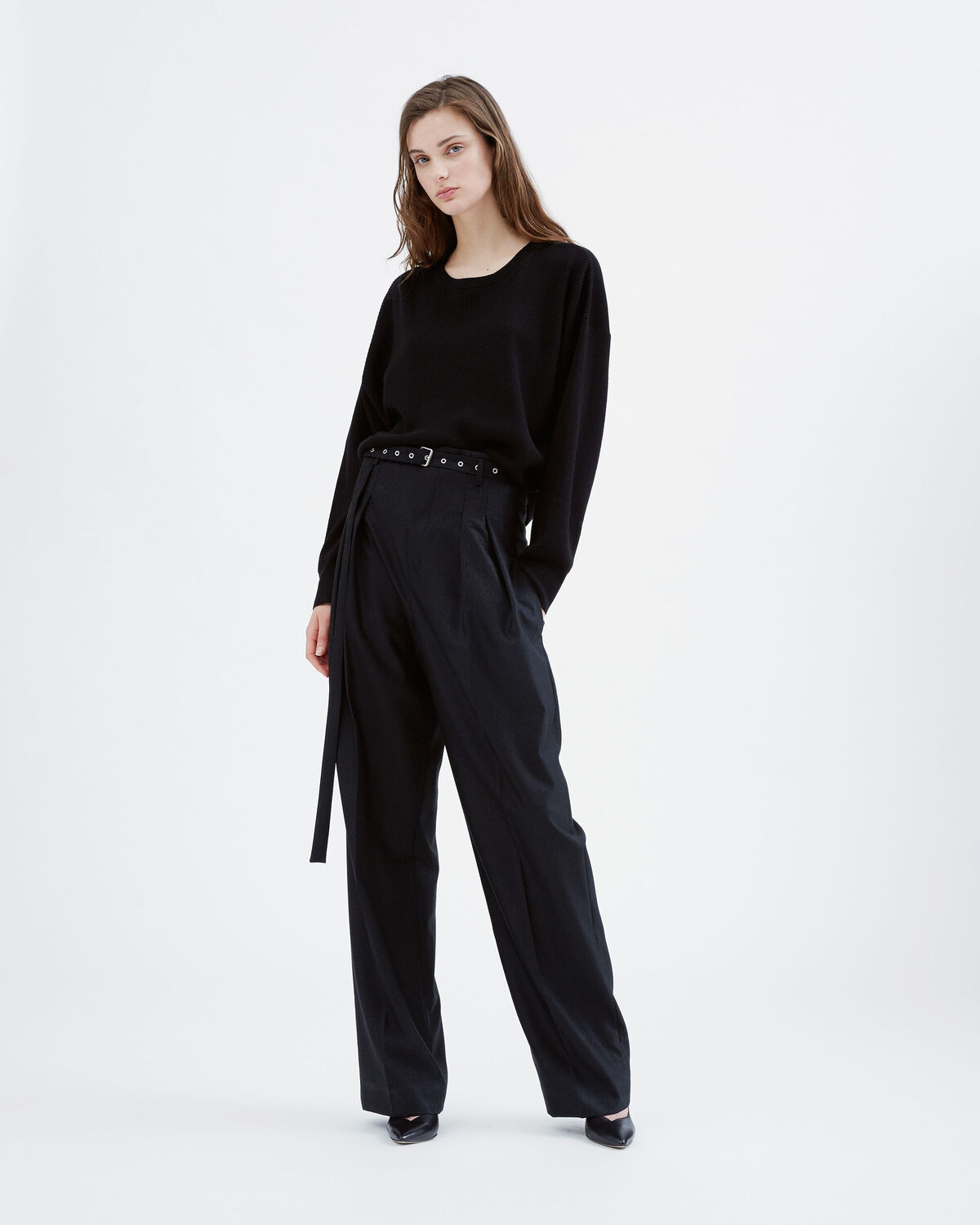 IRO - LAUZON PANTS BLACK/ECRU