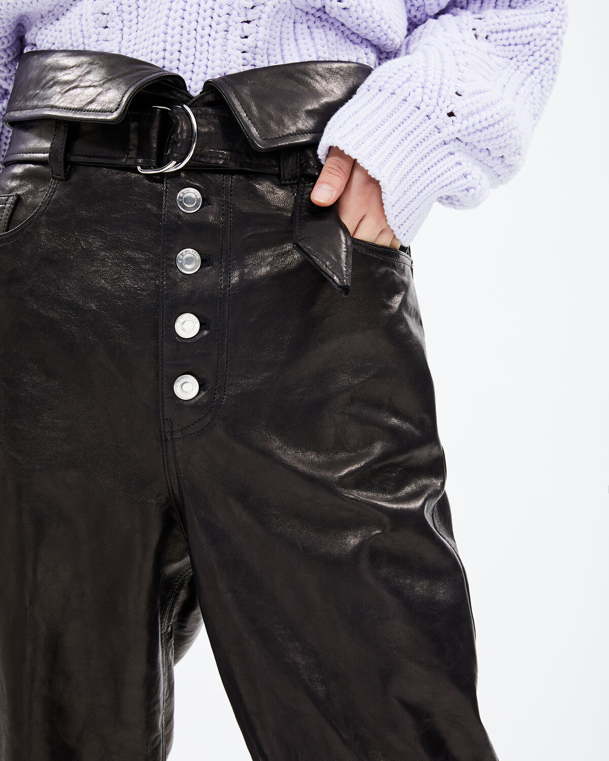 IRO - FEKIRE PANTS BLACK