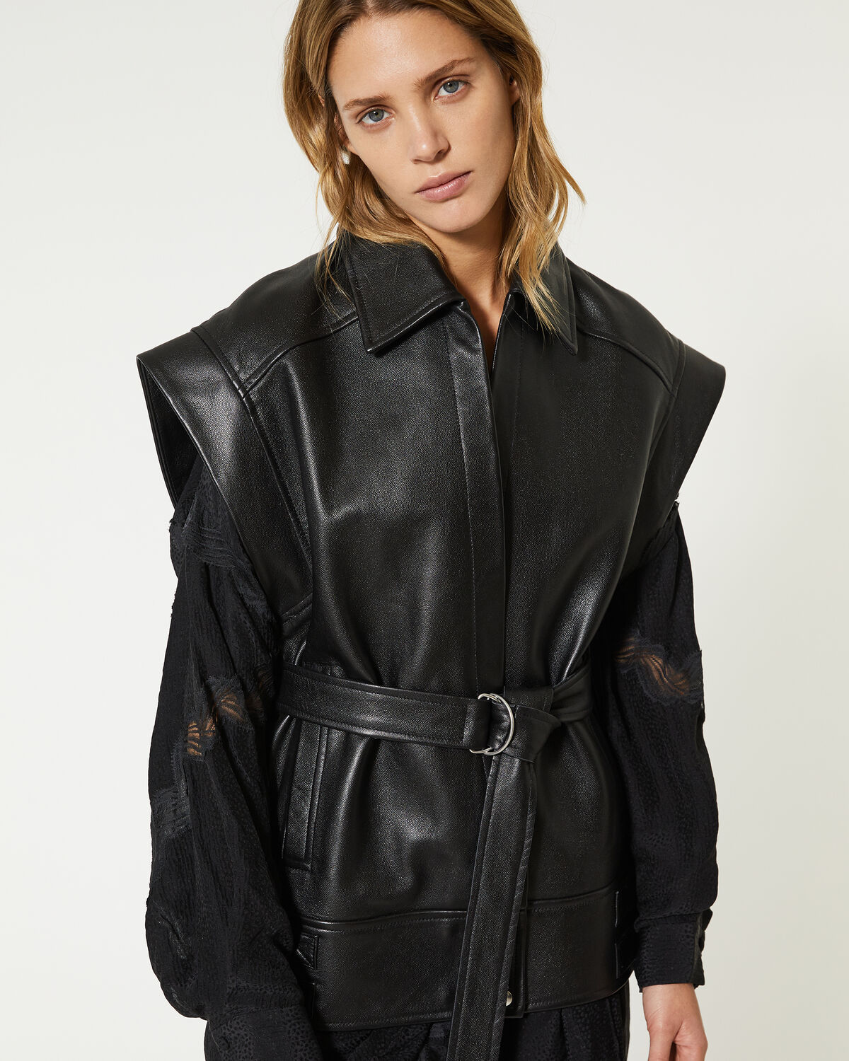IRO - HOLZ JACKET BLACK