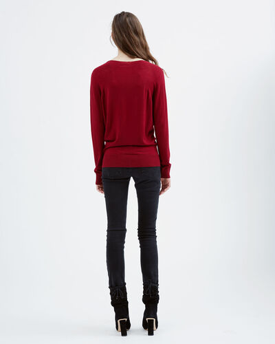IRO - OCTOP SWEATER GARNET