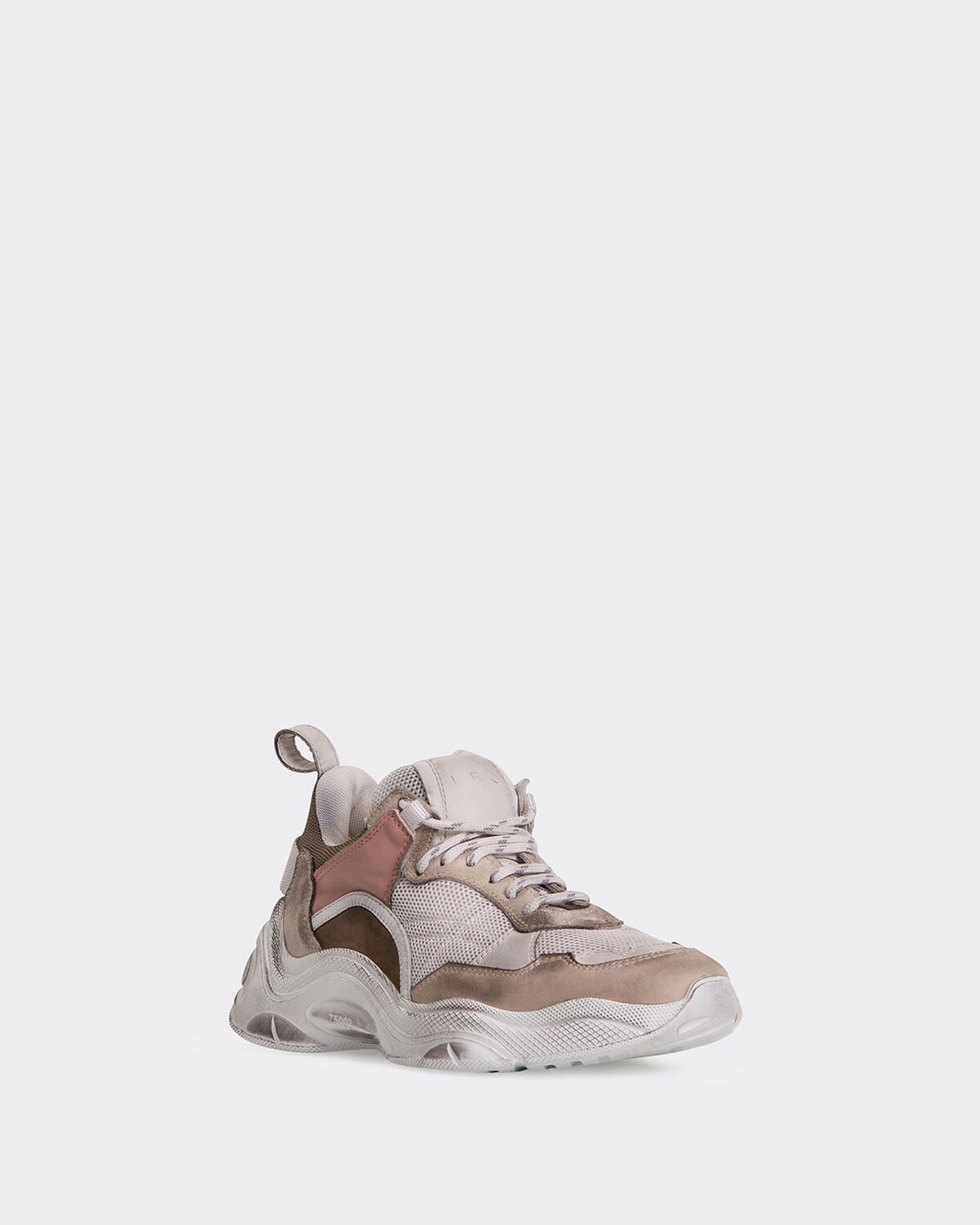 IRO - CURVE RUNNER SNEAKERS LIGHT KHAKI