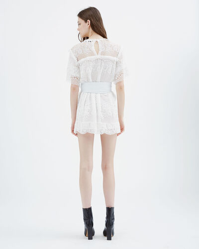 IRO - PIKE DRESS WHITE