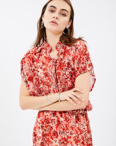 IRO - RELEILA DRESS RED