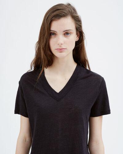 IRO - LIBBY T-SHIRT BLACK