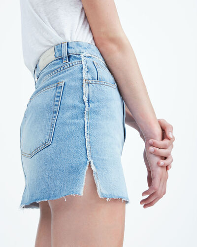 IRO - PEZA SKIRT LIGHT DENIM