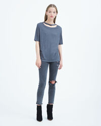 IRO - LASSLA T-SHIRT STEEL GREY
