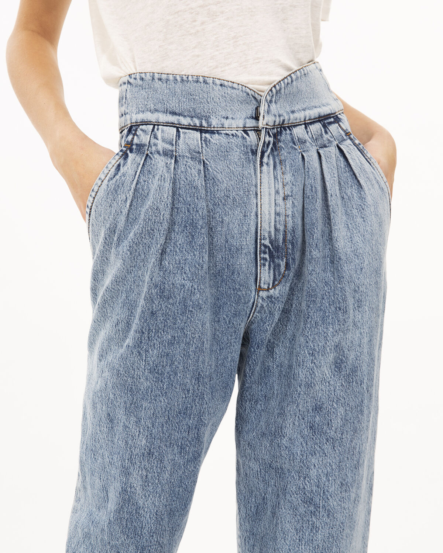 IRO - STAUNCH PANTS ACID BLUE