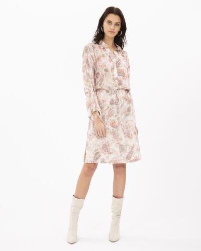 Iro Placid Dress In Ecru