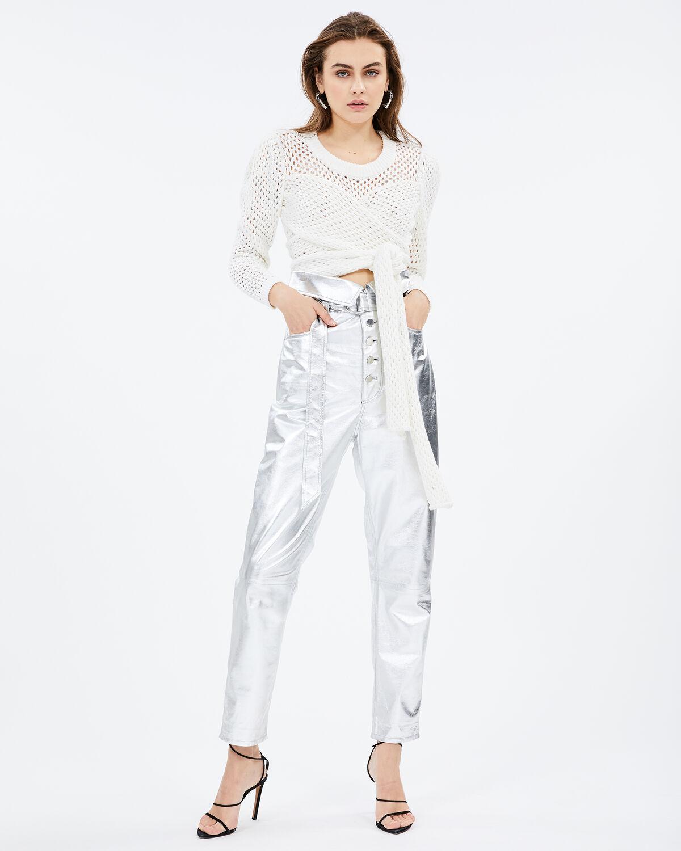 Key Pants Silver by IRO Paris