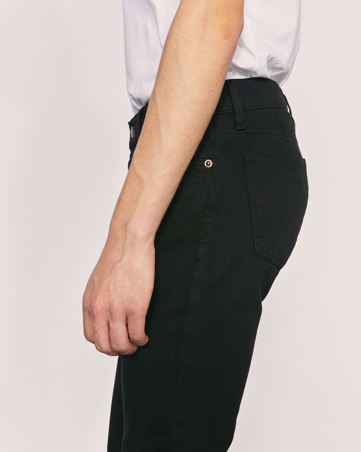 IRO - SISOKO SLIM STRAIGHT JEANS BLACK