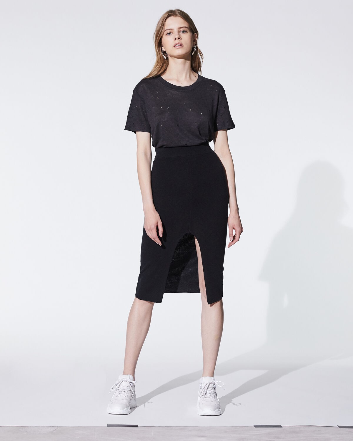 IRO - CLAY T-SHIRT BLACK