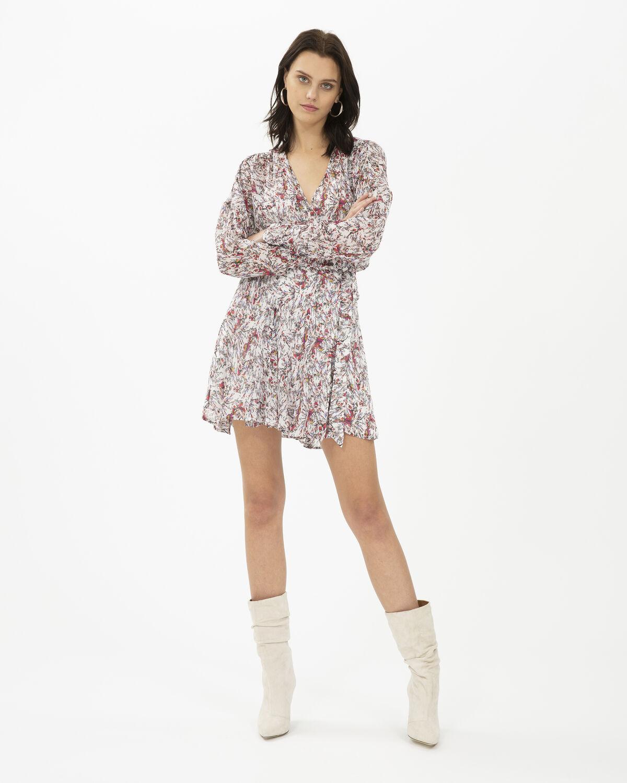 IRO - BUSTLE DRESS ECRU