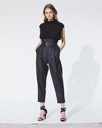 IRO - PLUTON TROUSERS ANTHRACITE
