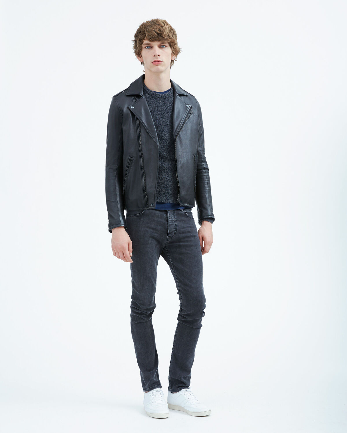 IRO - ETHER LEATHER JACKET BLACK