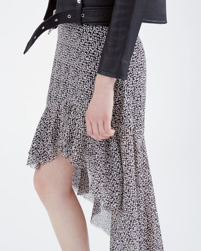 IRO - GRAY SKIRT BLACK