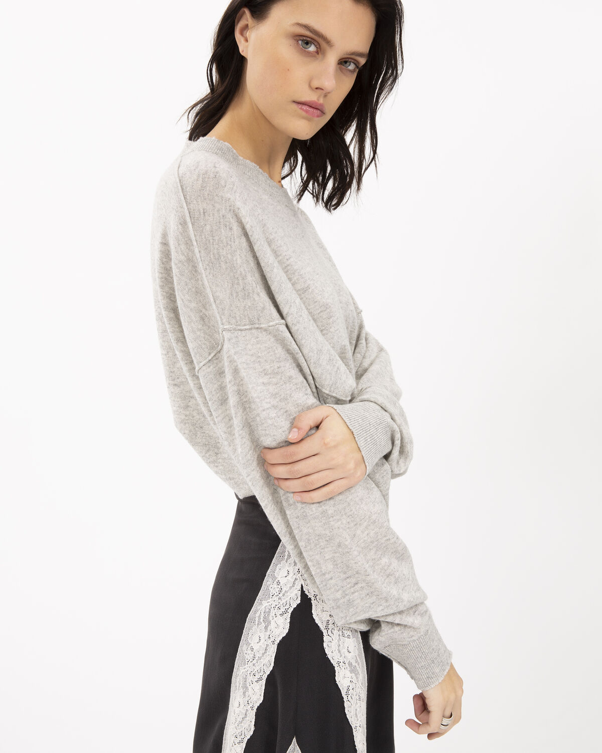 IRO - CRANKY SWEATER LIGHT GREY