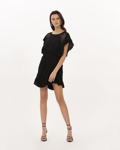 Iro Zestful Dress In Black