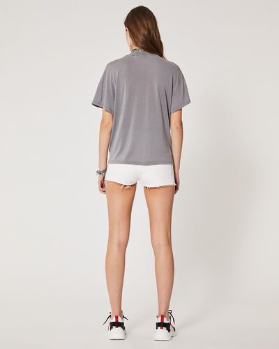 IRO - COLBY T-SHIRT DARK GREY