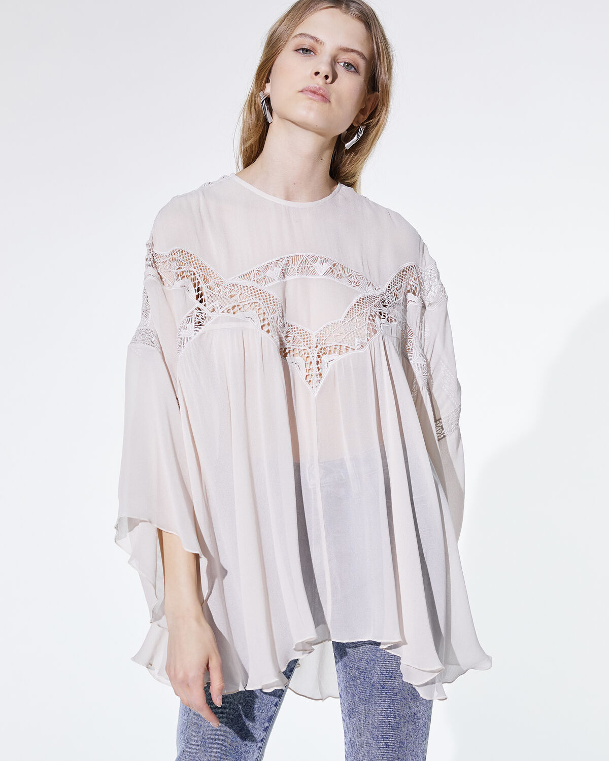 Damino Top Cream Pearl by IRO Paris