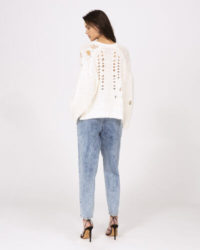 IRO - STALWART SWEATER OFF WHITE