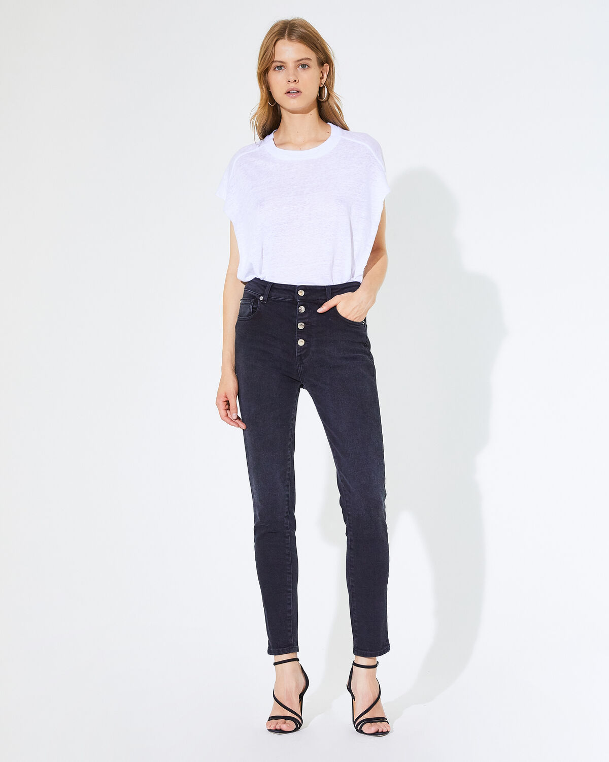 IRO - JEAN GAETY BLACK DENIM
