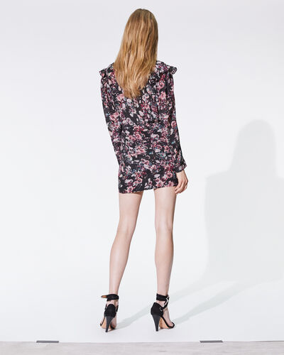 IRO - MERCA DRESS BLACK/PINK