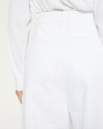 IRO - MONMAR TROUSERS WHITE