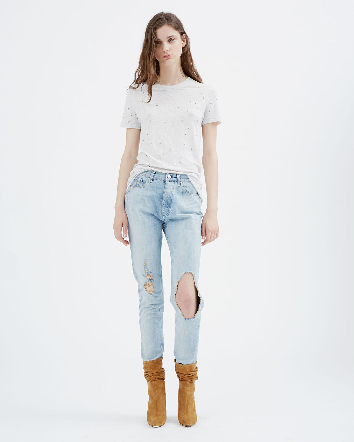 IRO - BARBARA JEANS LIGHT BLUE DENIM
