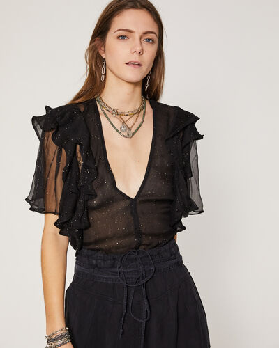 IRO - TOP LONILA BLACK