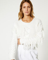 IRO - PULL WYLO MIXED WHITE