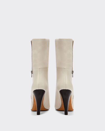 IRO - BOTTINES LEONA ECRU