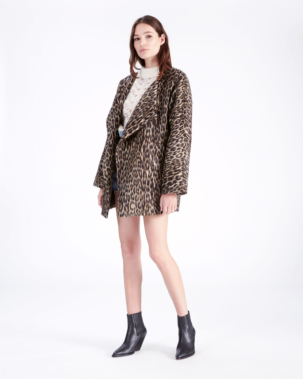 IRO - MESS COAT BLACK
